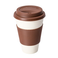 Brun ECO Cup - Take-away mugg i bambufiber