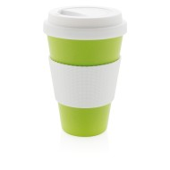 Limefärgad ECO Cup - Take-away mugg i bambufiber