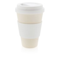 Vit ECO Cup - Take-away mugg i bambufiber