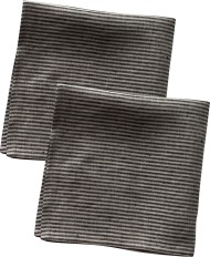 2-pack servetter i lin