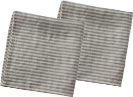 2-pack disktrasor i 100% lin