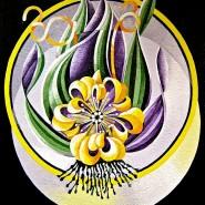 """NR 9 E 91 Moonshadow 5 """"Yellow moonlight"""", Strl 60x50cm Pris: 6.900:-"""