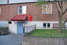 MiK-Knutens nya lokal på Råstensgatan 4.  Handikappvänlig miljö med allt i ett plan. Mittemot skateboardrampen (Kålltorpsrampen)