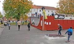 Kålltorpsrampen - på Björcksgatan