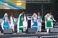 Fanos dansgrupp debuterade på festivalen