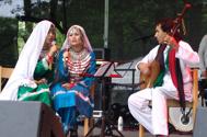 Det bjöds på afghansk sång och musik
