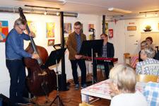 Jazzvisor med Bosse Berghult trio