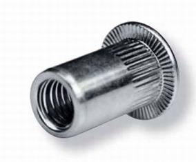 Mutternit Aluminium