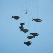 Svävande mobil Fiskstim