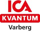 ICA Kvantum Varberg med svart text