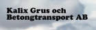kalix grus och betongtransporter ab