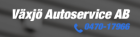 VÄXJÖ AUTOSERVICE AB
