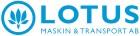 Lotus Maskin & Transport AB logga