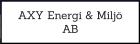 AXY Energi & Miljö AB