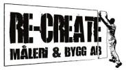 Re-Create Måleri & Bygg AB logga