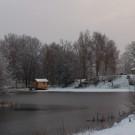 Bastuhuset vinter