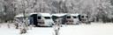 Husvagnar vintercamping Våxtorps camping Laholm