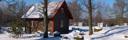 Lofgtstuga vintercamping Våxtorp