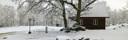 Vintercamping stugby Laholm