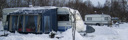 Vintercampare vinter husvagnar Våxtorps camping och stugby