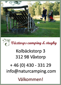 Boka fotbollsgolf på Våxtorps camping i Laholm, perfekt familjenöje eller aktivitet i samband med utflykter, svensexor eller möhippor