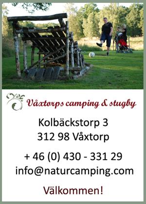 Fotbollsgolf på Våxtorps Camping och Stugby