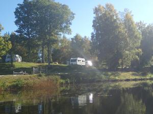 Höstcamping på Våxtorps Camping och Stugby
