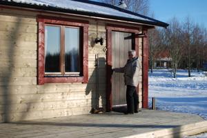 Vinterbonade självhushållstsugor på Våxtorps Camping och Stugby