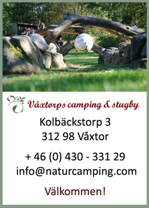 Fotbollsgolf på Våxtorps Camping & Stugby
