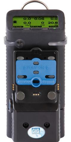 Monterad pump på G460