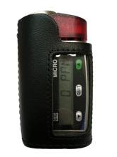 Micro IV i läderhölster