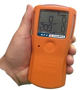 MGC Pump är den gasvarnare med pump som batteriet håller längst på