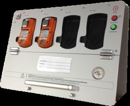 Vägghängd Teststation för Bump eller kalibreing
