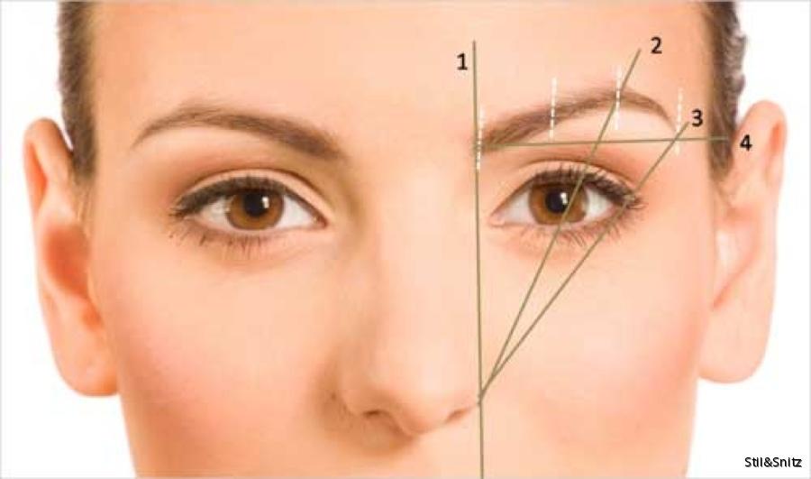 tråda ögonbryn själv