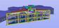 Snitt genom grundskolebyggnad