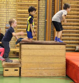 Barngymnastik, 5 - 7 år