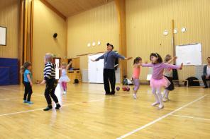 Barndans/Danslek, ca 3-5 år