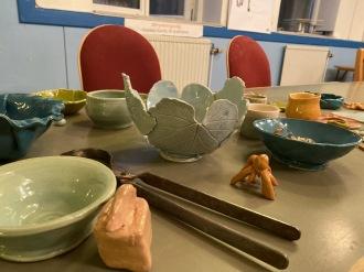 Keramik vuxen+barn