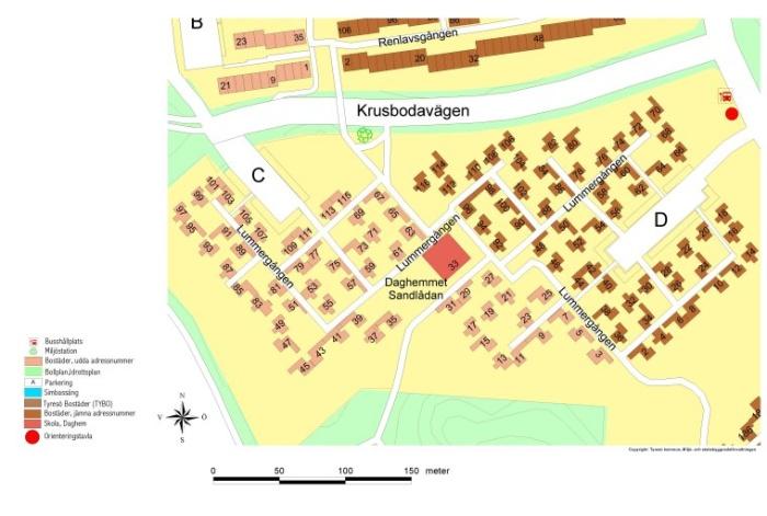 Karta Lummergången