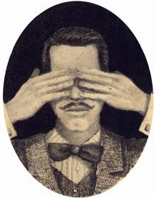 """The Illusionist"" 5x7 cm copyright Jonas Brandin"
