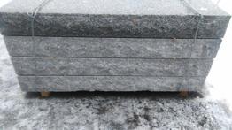 Granit trappsteg flammad -
