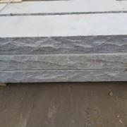 Granit trappsteg flammad