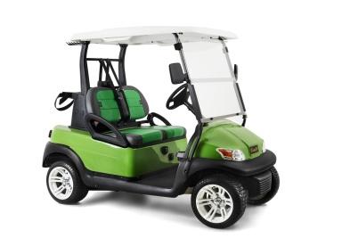 """Hamatzu Prestige, en golfbil med SUV-känsla och """"mycket extra finess"""". Dessutom med överlägsna AC systemet."""
