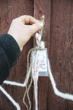 Stickade ullfiltar från finska langohome