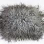 Fårskinnskudde med lång ull