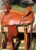 DK Working Cow Horse saddle