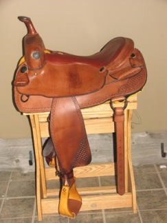 DK Cutting Saddle - DK Cutting Saddle