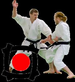 Kristoffer och Erik under träning
