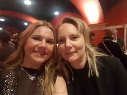 Pia Lerigon och Frida Arwen Roslund