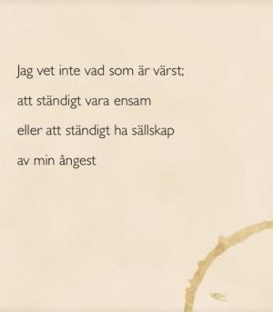 Dikt av Sanna Ivarsson